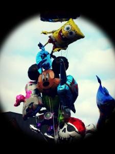 Ballons goflés à l'helium Disney pour vos evenements