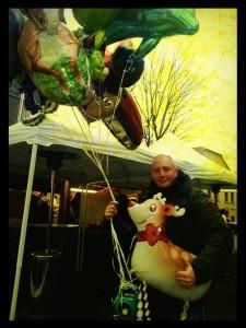 Ballons goflés à l'helium Disney pour enfant