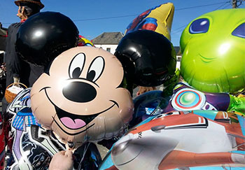 Ballons gonflés à l'helium Châteaux Events Virton Aubange