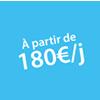Location à partir de 180 euros Châteaux Events
