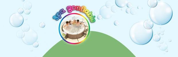 Nos spas gonflables bubble jet