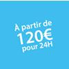 Location à partir de 120 euros pour 24H Châteaux Events