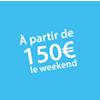 Location à partir de 150 euros pour un weekend Châteaux Events