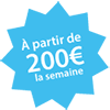 Location à partir de 200 euros pour la semaine Châteaux Events