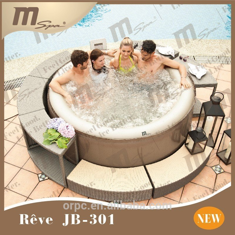 Location de Spa gonflable, jacuzzi, bubble jet à Luxembourg, Virton, Arlon