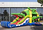 chateau gonflable crocodile location, virton, arlon, luxembourg