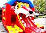 location événement chateau gonflable tigre arlon virton Luxembourg