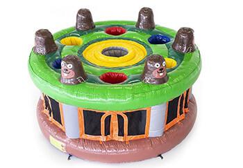 location jeux gonflables originaux chasse taupe enfant près de virton, gérouville et musson