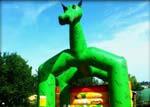 location mariage chateau gonflable dragon, gérouville, saint-mard, izel